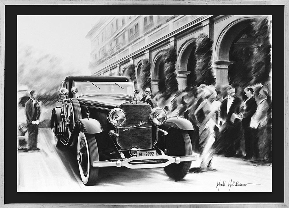 Hispano-Suiza H6B Hibbard and Darrin Cabriolet. 1929 г.