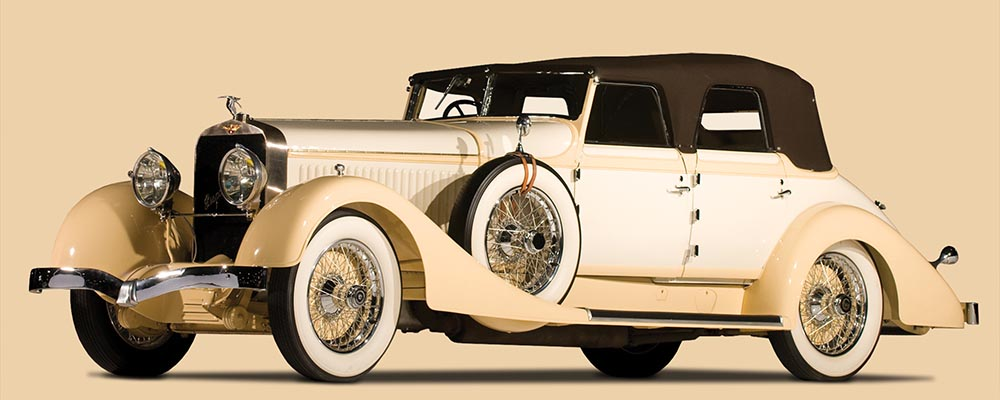 Hispano-Suiza H6C Convertible Sedan от Hibbard & Darrin. 1928 г.